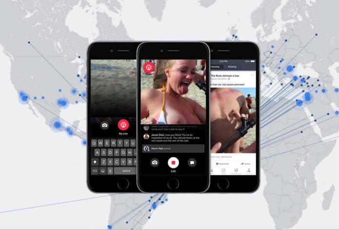 facebook livemap porn danger