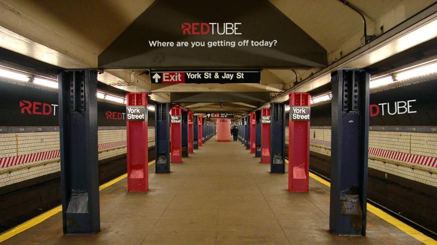 RedTube Wants to Sponsor New Yorks Subway System - Venus