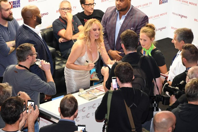 Stormy Daniels Book Signing