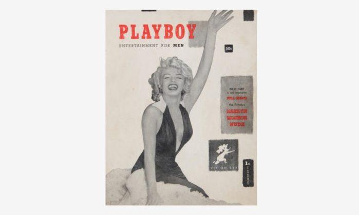 das erste Playboy Magazin