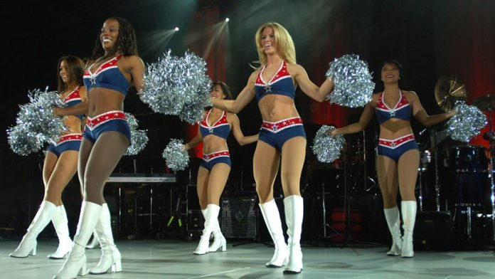 super bowl cheerleaders