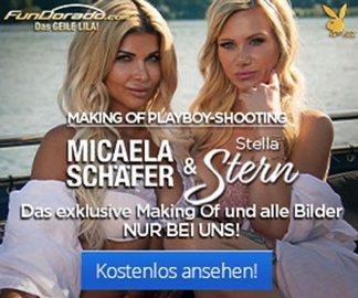 Stella Stern und Micaela Schäfer Playboy