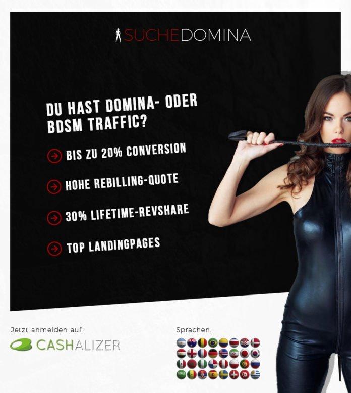 Suche Domina BDSM Webmaster-Programm