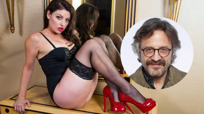 Sovereign Syre and Marc Maron